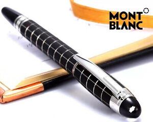 Re-plica MB Starwalker Series Matte Black Grid M Nib Rollerball Pen No Box