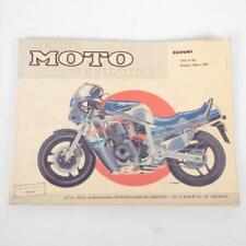 Revue technique atelier E.T.A.I moto Suzuki 750 GSXR 1985 à 1987 Hors Série NÂ
