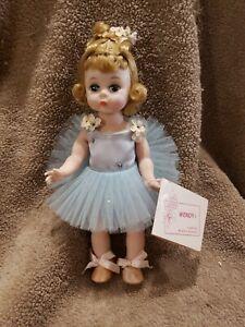 """1960's Madame Alexander Bent Knee Walker Wendy kin Balleriina  Doll 8"""""""