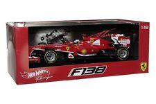 F1 2013 FERRARI F138 F. ALONSO FORMULA 1 1/18 W/ FIGURE #3 HOT WHEELS BCK14