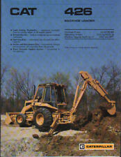 "Caterpillar ""426"" Backhoe Loader Brochure Leaflet"