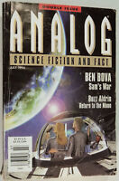 Analog Science Fiction / Fact July 1994 Ben Bova, Buzz Aldrin Return To The Moon