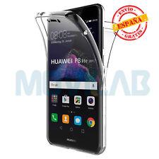 Funda completa gel / TPU Huawei P8 / P9 Lite 2017 transparente proteccion 360