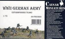 Caesar-tedeschi soldati German Soldiers tempesta pionieri - 1:72 modello-KIT