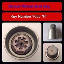 """Genuine Suzuki Bloccaggio Dadi Ruota/Chiave 7055 """"R"""""""