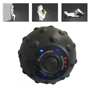 Electric Vibrating Massage Ball Muscle Roller Roller Fitness Ball Rechargeable