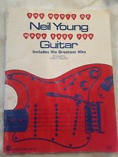 RARE! VINTAGE 1969 The Music of Neil Young Made Easy for Guitar Brent Phillips