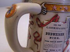 Bud Anheuser-Busch Advertising Through The Decades Stein-  First in a Series