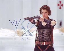 MILLA JOVOVICH signed autographed RESIDENT EVIL ALICE photo