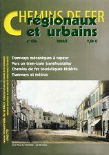 CHEMINS de FER RÉGIONAUX et URBAINS - N° 296 (2003/2) (FACS - CFRU) (Train
