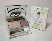 Clinique Beach Plum All About Shadow Duo Full Size in Retail Box