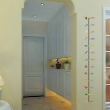 Height Measure Wall Sticker Decal Kids Adhesive Vinyl Girl Boy Baby Room Decor