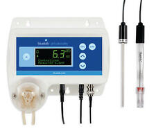 Bluelab pH Controller - monitor automatic ph solution dosing lcd display