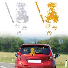 1 * funny car decal sticker- Truck Rear windshield Window Dalmatians Dog White
