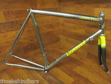 LITESPEED ULTIMATE TITANIUM TI ROAD BIKE FRAME SET 57CM CARBON FORK
