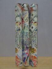 Money Drawing Incense 3 Packs x 20 Sticks Kamini Hex Free Post AU