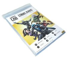 Battle Lab -  Resealable Golden Age Comic Book Storage Bags 100 Comic Bags