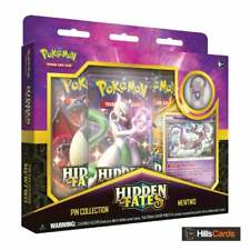 Hidden Fates Pin Collection Box: Mewtwo | Pokemon Trading Card Game New & Sealed