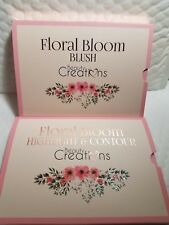 2 PACK FLORAL BLOOM HIGHLIGHT & CONTOUR AND BLUSH BEAUTY CREATIONS