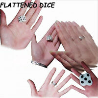 Easy Magic Close-up Dice Magic Trick Beat Flat Dice Easy To Learn Mini`WrdM0HMW