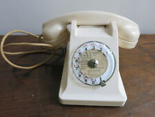 Téléphone  U43 Bakélite blanc