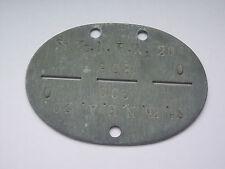 2ww german signals   dog tag / identity disc  ST.KP .N.E.A.20