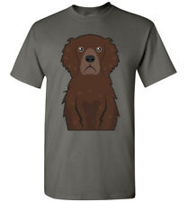 Curly Coated Retriever Cartoon T-Shirt Tee - Men Women Ladies Youth Tank Long