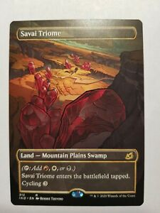 Savai Triome showcase Ikoria: Lair of Behemoths