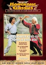 HONG KONG de Clásicos - 4 Sin Cortes Kung Fu Oriental Shaolin Caja DVD NUEVO