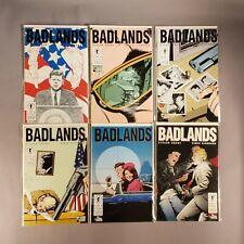 BADLANDS #1-6 COMPLETE MINI SERIES DARK HORSE COMICS GRANT & GIARRANO 1992 JFK