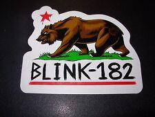 BLINK 182 California Bear Logo Sticker Decal Skate skateboard