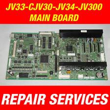 Mimaki JV33 / CJV30 / JV34 / JV300 / JV400 / JV150 Main Board Repair services