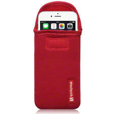 Shocksock Rojo Neopreno Bolsa Funda Para Apple Iphone 6 (4,7 Pulgadas)
