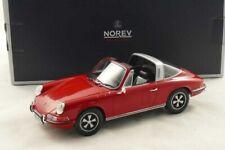 Porsche 911 T 2.2 Targa bahia red 1:18 Norev