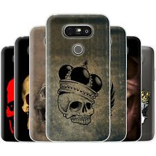 Dessana Skull TPU Silicone Protective Cover Phone Case Cover For LG
