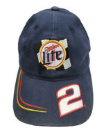 Miller Lite Racing Nascar Rusty Wallace #2 Cap Hat Chase Authentics