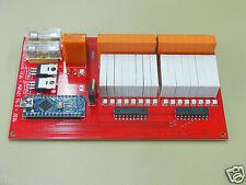 RelaisDuino 16 Kanal USB Relaiskarte 2xPWM Ausgänge ARDUINO NANO ATMEGA328 relay