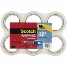 Scotch Heavy Duty Tape 48mm X 50m Clear 6 Pack