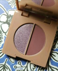 Love You First Eyeshadow Duo STUNNING Lilac & Blackberry 0.09 oz/2.5 g Purple