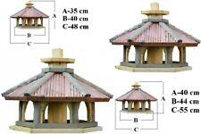 Vogelhaus mit Einsatz zum Füttern KWL-L-XL,Vogelhäuschen,Futtersilo,Vogelstation