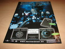 DIMMU BORGIR - DEATH CULT!!!!!!!!!!! PUBLICITE / ADVERT