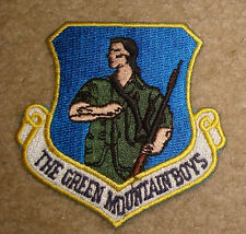 USAF,PATCH,134TH FIGHTER SQN,GREEN MOUNTAIN BOYS,  VERMONT Air National Guard