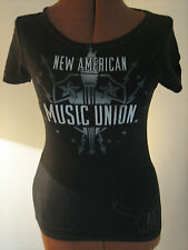 AMERICAN EAGLE OUTFITTERS GRAPHIC TEE~XSMALL~CUTE~L@@K~BLACK~