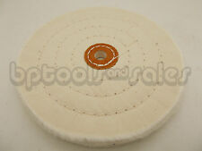 "6"" Buffing Soft Polishing Wheel 1/2"" Arbor Buffer Polish Fit Most Bench Grinders"