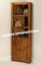 Contemporary Wooden Corner Bookcase shelves cum cabinet rack !!