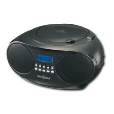 Insignia CD Player Portable Boombox with AM FM Radio NS-B4111 -C Black