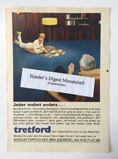 Werbeanzeige/advertisement A5: Tretford Teppichboden 1967 (170616318)