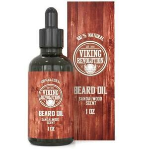 Viking Revolution Beard Oil - Sandalwood Scent
