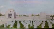 Unknown Military Cemetery, Monument/Memorial, Magic Lantern Glass Slide