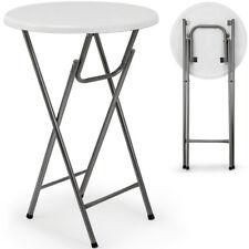 Tisch Stehtisch Gartentisch Klappbar MDF Klapptisch Bistrotisch Bartisch Weiß